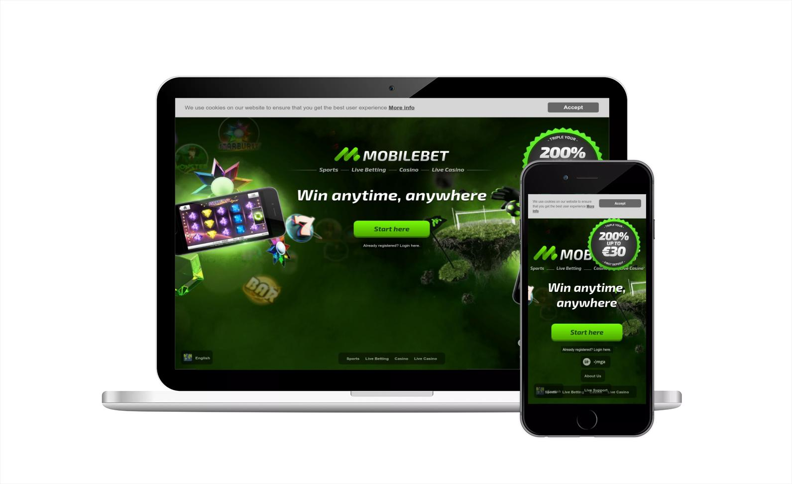 Mobilebet Casino Login