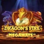 logo dragons fire megaways