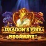 logo dragons fire megaways