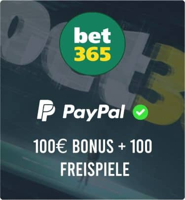 PayPal Casino BET365